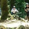 Great fun with BMX bikes