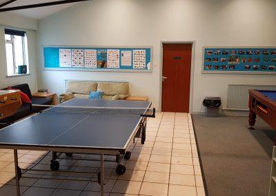 Pool, Table Tennis and Football